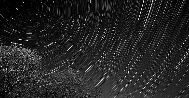 Stars over South Shropshire, January 2011 / © Matthew Webster